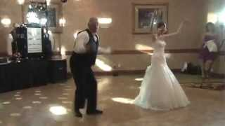Father Daughter Wedding Dance Surprises Guests