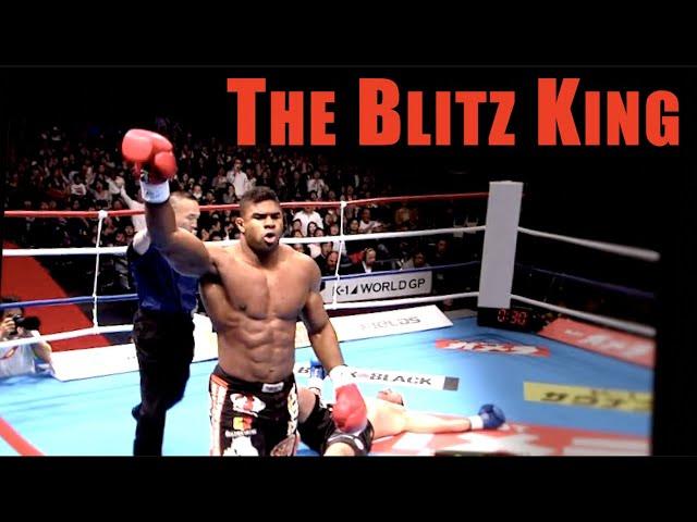 Overeem's Insane Blitzes & Knees Explained - Technique Breakdown