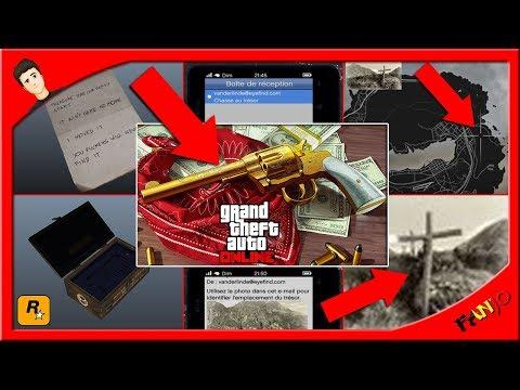 ✅CHASSE AU TRÉSOR (TOUS les EMPLACEMENTS) REVOLVER DOUBLE ACTION /GTA 5 Online + 250.000$ GRATUIT !