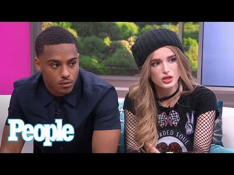Bella Thorne & Keith Powers: Working Together, Moment With Fan's Dyslexic Dad | People NOW | People