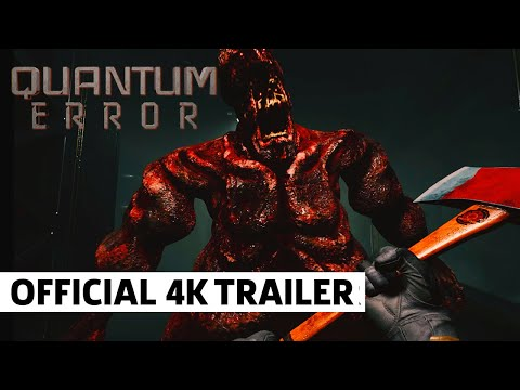QUANTUM ERROR - Official PS5 4K Gameplay Teaser Trailer
