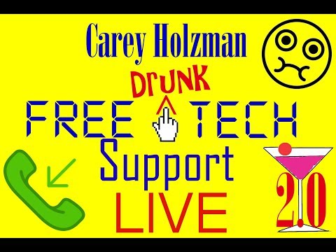 Drunk Tech Support v2.01b. Your STUPID questions, our STUPID answers! May 18 @4:30pm PT