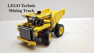 LEGO Technic Mining Truck Review, Set 42035