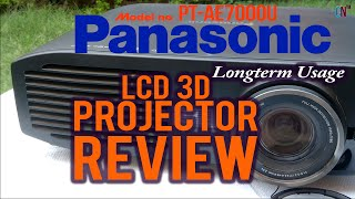 Panasonic LCD 3D Projector Review [Model No PT-AE7000U, Longterm Usage](Where to buy : http://amzn.to/1YgQ97K (Model PT -AE7000U) http://amzn.to/1UGfe9d (Model PT AE8000U) http://amzn.to/1tlo2ZA (International) SUBSCRiBE ..., 2016-06-10T11:24:38.000Z)