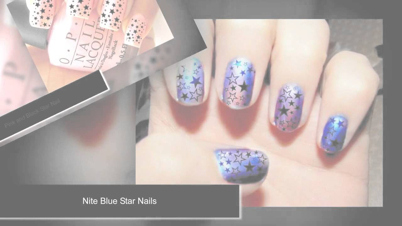 50 Cool star nail art designs with lots of tutorials and ideas ...