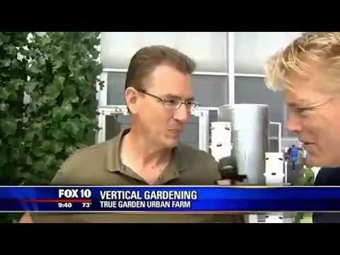 Tower garden aeroponic home vertical food forest doovi for Hydroponics mesa az