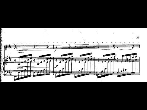 Mendelssohn On Wings of Song with Sheet Music (violin+piano)