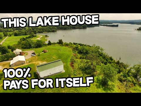 this Lake house pays for itself 100% Kentucky Lake Trophy Bass