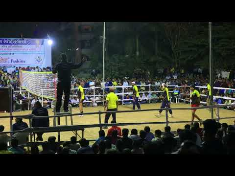 Rajasthan V/S Maharashtra - Finale - Volleyball Tournament -
