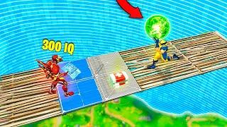 10IQ vs 300IQ... FORTNITE FAILS & Epic Wins! (Fortnite Battle Royale Funny Moments)