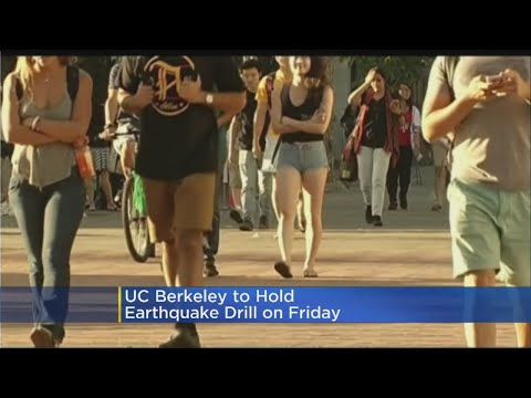 UC Berkeley Hosting Major Earthquake Drill