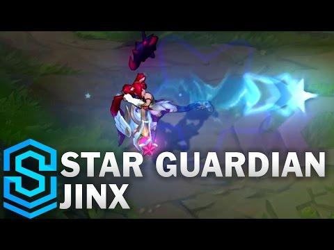 Star Guardian Jinx Skin Spotlight - League of Legends