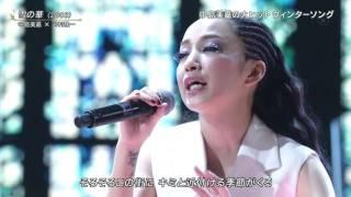 中島美嘉&河村隆一「雪の華」2015FNS歌謡祭 2015.12.02