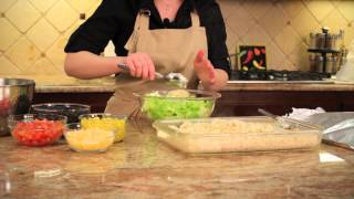 Southwestern Salad With Baked Brown Rice