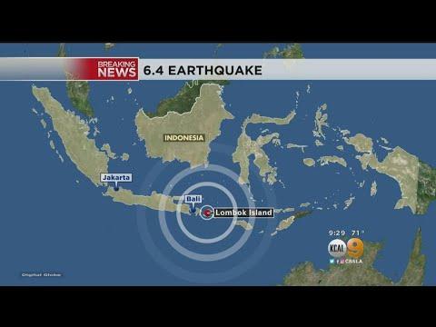 Magnitude 6.4 Earthquake Strikes Indonesia, Leaving 10 Dead, 40 Injured