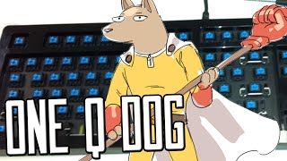 ONE Q DOG - Playing Nasus with only Q on keyboard
