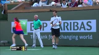 Murray Scrambles For Hot Shot Indian Wells 2016