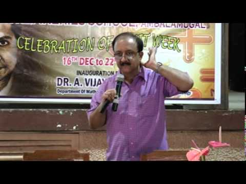 Prof. Ambat Vijayakumar,, CUSAT, Ramanujan and his legacy