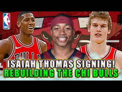 ISAIAH THOMAS SIGNING CONFIRMED! REBUILDING THE CHICAGO BULLS! NBA 2K18 MY LEAGUE