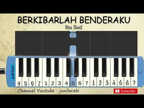 Not Pianika Berkibarlah Benderaku - Tutorial Pianika