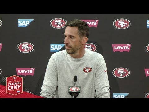 Kyle Shanahan Impressed by 49ers First Padded Practice