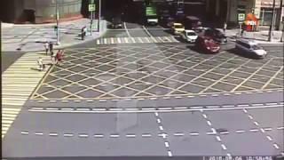 Смотреть видео ДТП с полицией и пожаром 06.08.2018  Москва онлайн