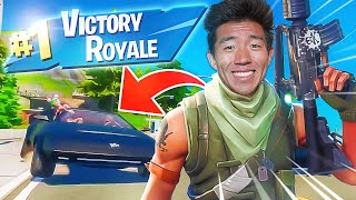TRYING TO BE A FORṪNITE SWEATY TRYHARD! Fortnite Battle Royale
