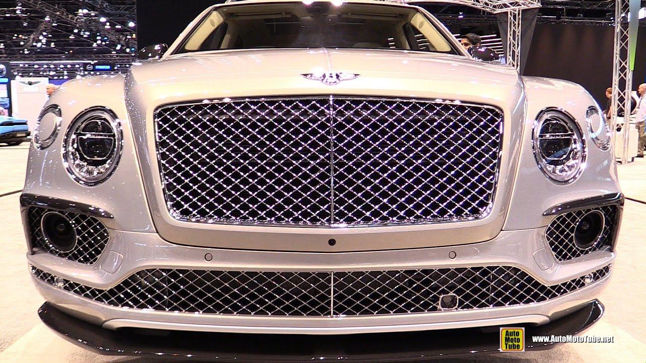 2016 Bentley Bentayga First Edition Exterior And Interior Walkaround Chicago Auto Show You