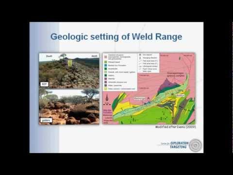 Iron ore types at Weld Range, Yilgarn Craton, Western Australia