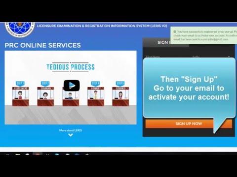 How to register to PRC-online.com?