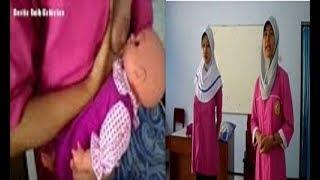 Tutorial Cara Ibu Menyusui Anak yang Benar (BreastFeeding Tutorial, Baby and Mom)
