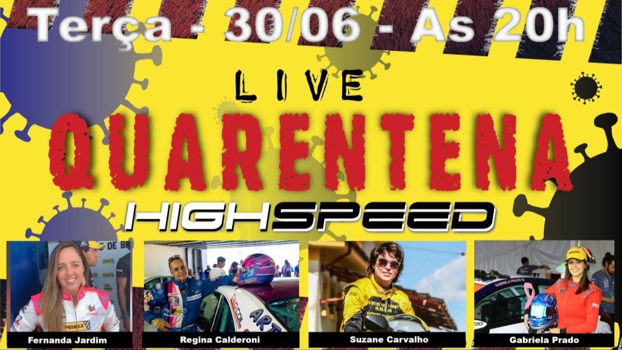 High Speed Quarentena - Ao Vivo