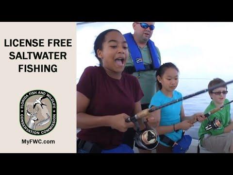 Saltwater License-Free Fishing September
