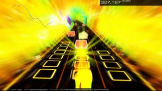 Fear (Hybrid Super Collider Mix) by Sarah McLachlan an Audiosurf 2 Journey