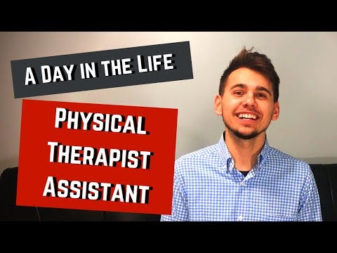 physical therapy assistant day in the life