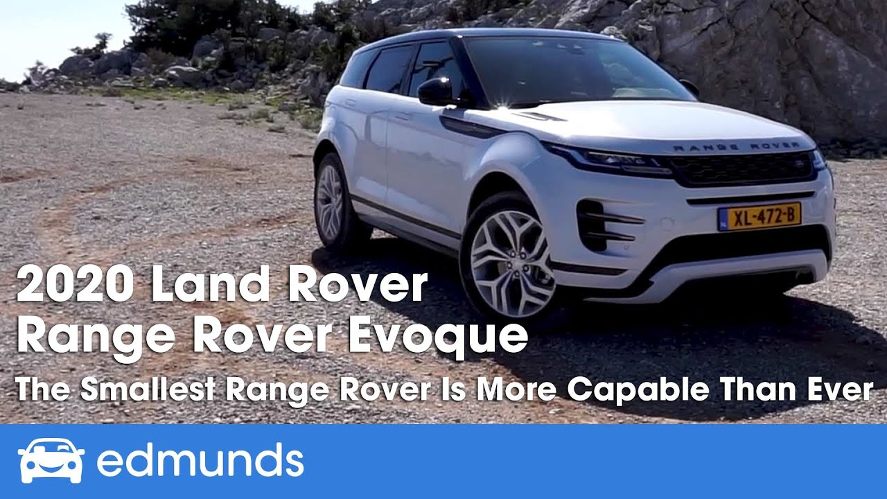 2020 Land Rover Range Rover Evoque Review And First Drive