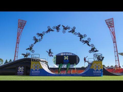 WATCH LIVE: BMX Dirt Final at X Games Sydney 2018