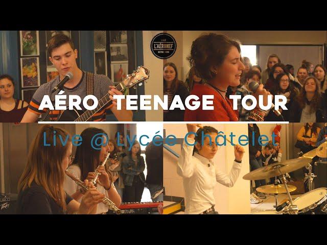 Aéro TeenageTour au lycée Châtelet de Saint-Pol-sur-Ternoise