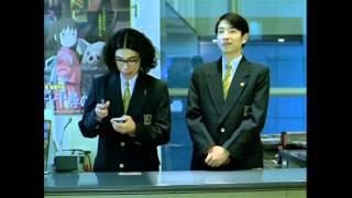 2001年スタジオジブリTV-CM 出演はラーメンズ.