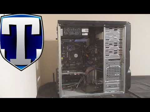 How to Clean Inside Your PC - cleaning a desktop computer.