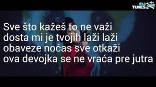 Sandra Afrika-Pijana/LYRICS VIDEO BY BALKAN LYRICS