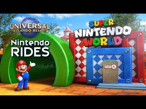 Super Nintendo Worlds Rides & Attractions at Universal Orlando - ParksNews