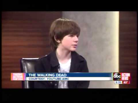 The Walking Dead star Chandler Riggs