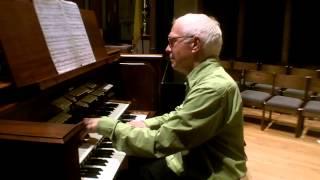 Karg-Elert Harmonies du Soir, Opus 72, No. 1