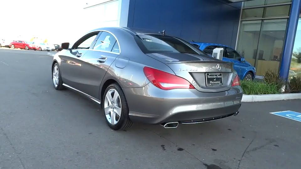 2015 mercedes benz cla class pleasanton walnut creek for Mercedes benz of pleasanton