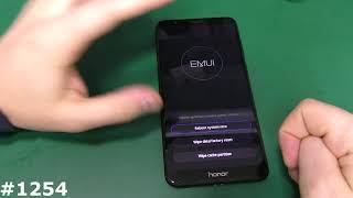 Hard Reset, разблокировка Huawei Honor 7X