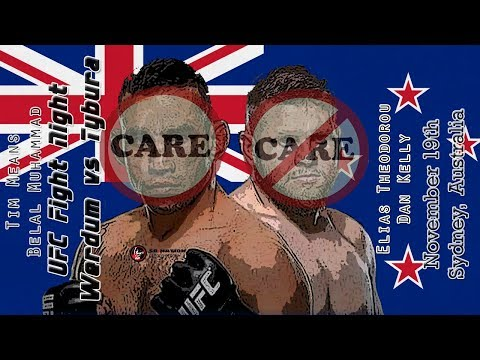 UFC Sydney Care/Don't Care Preview