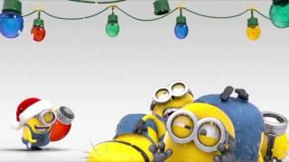 Minions Merry Christmas #roofingprotx