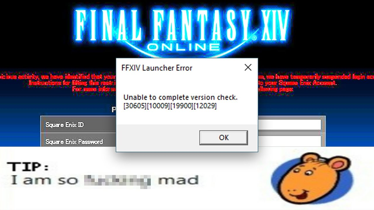 FFXIV Trying to buy the game be like