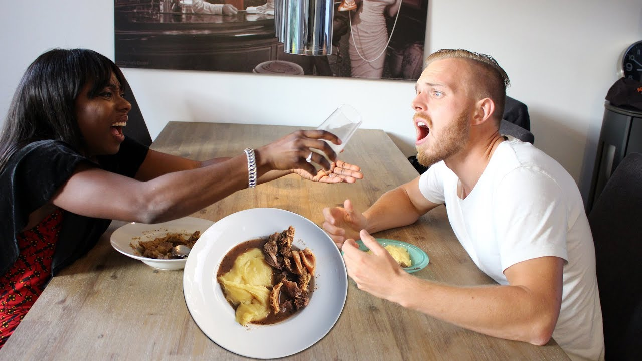 CAN JACK SURVIVE HIS FIRST NIGERIAN PEPPER SOUP WITH PLANTAIN FUFU!?